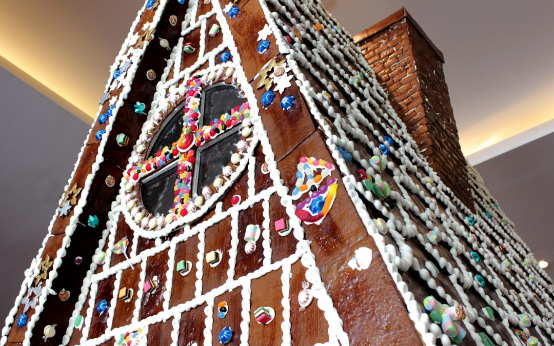 Brisbane's Biggest Gingerbread House