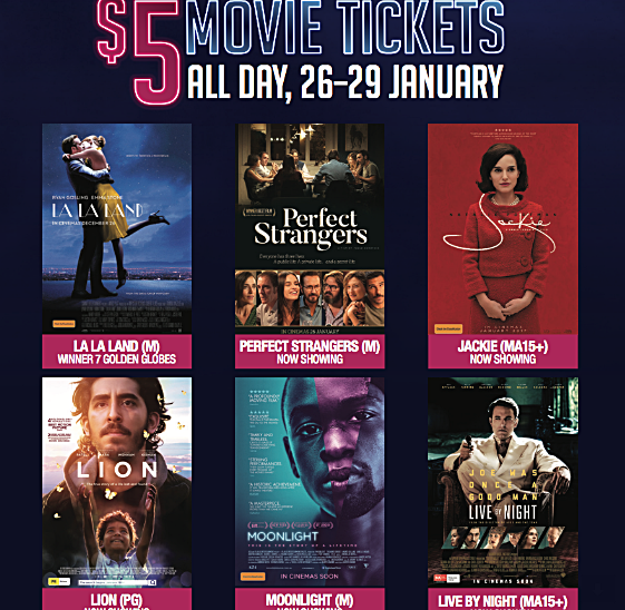 Palace Cinemas celebrates Australia Day
