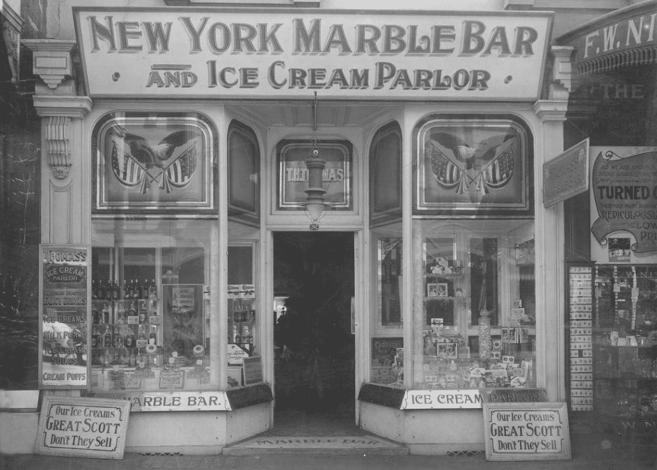 New York Marble Bar and Ice cream Parlor