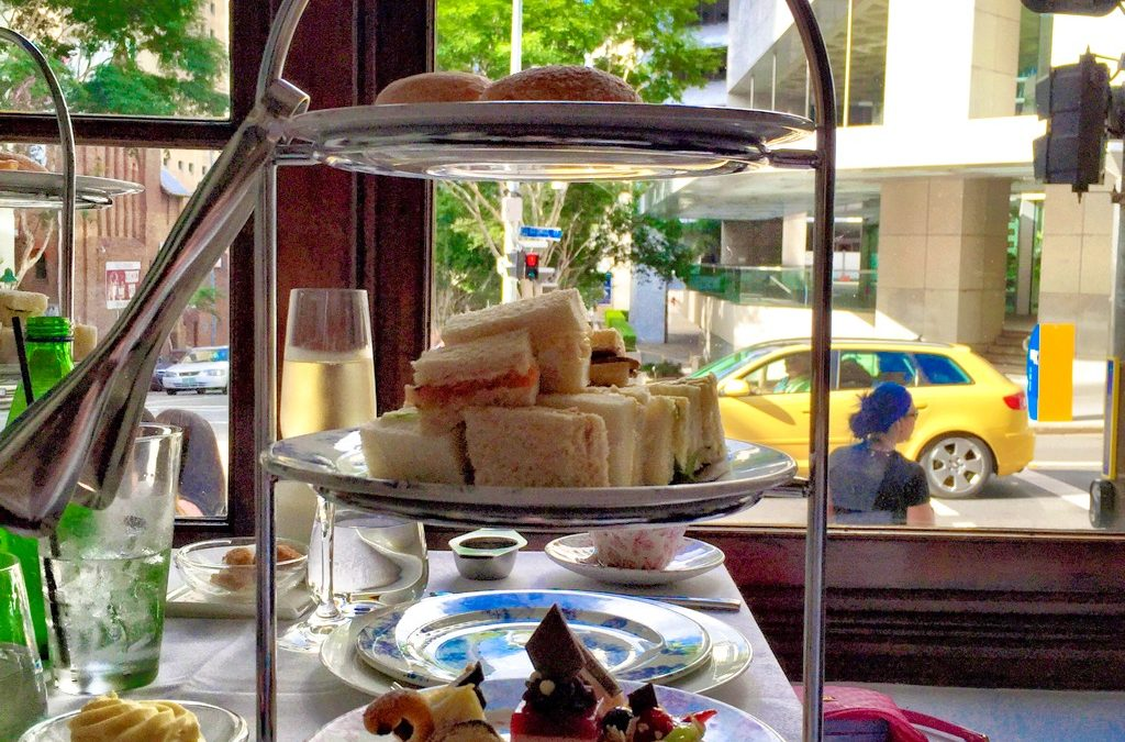 High tea at The Lab Restaurant & Bar