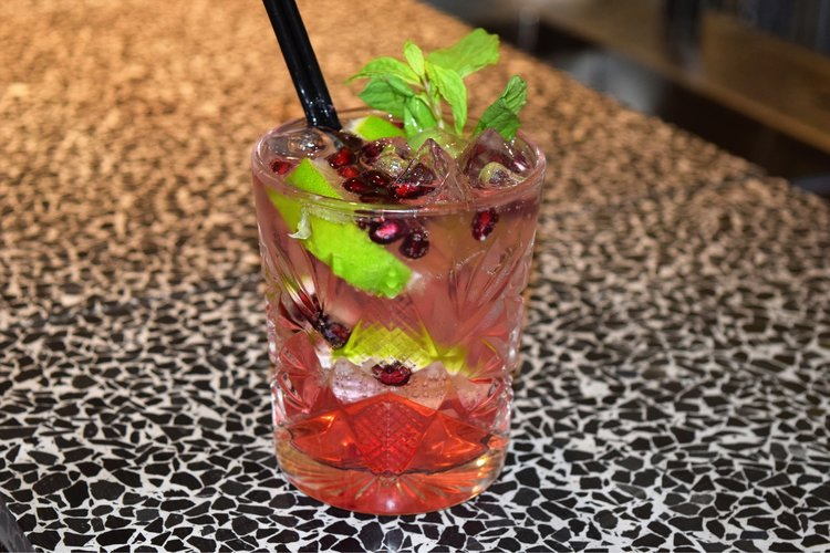 Introducing the Pomegranate Mojito