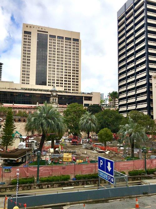 Anzac Square restoration project
