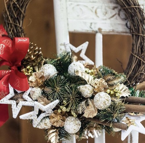 Christmas flower workshops
