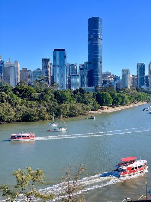 Brisbane coffee views