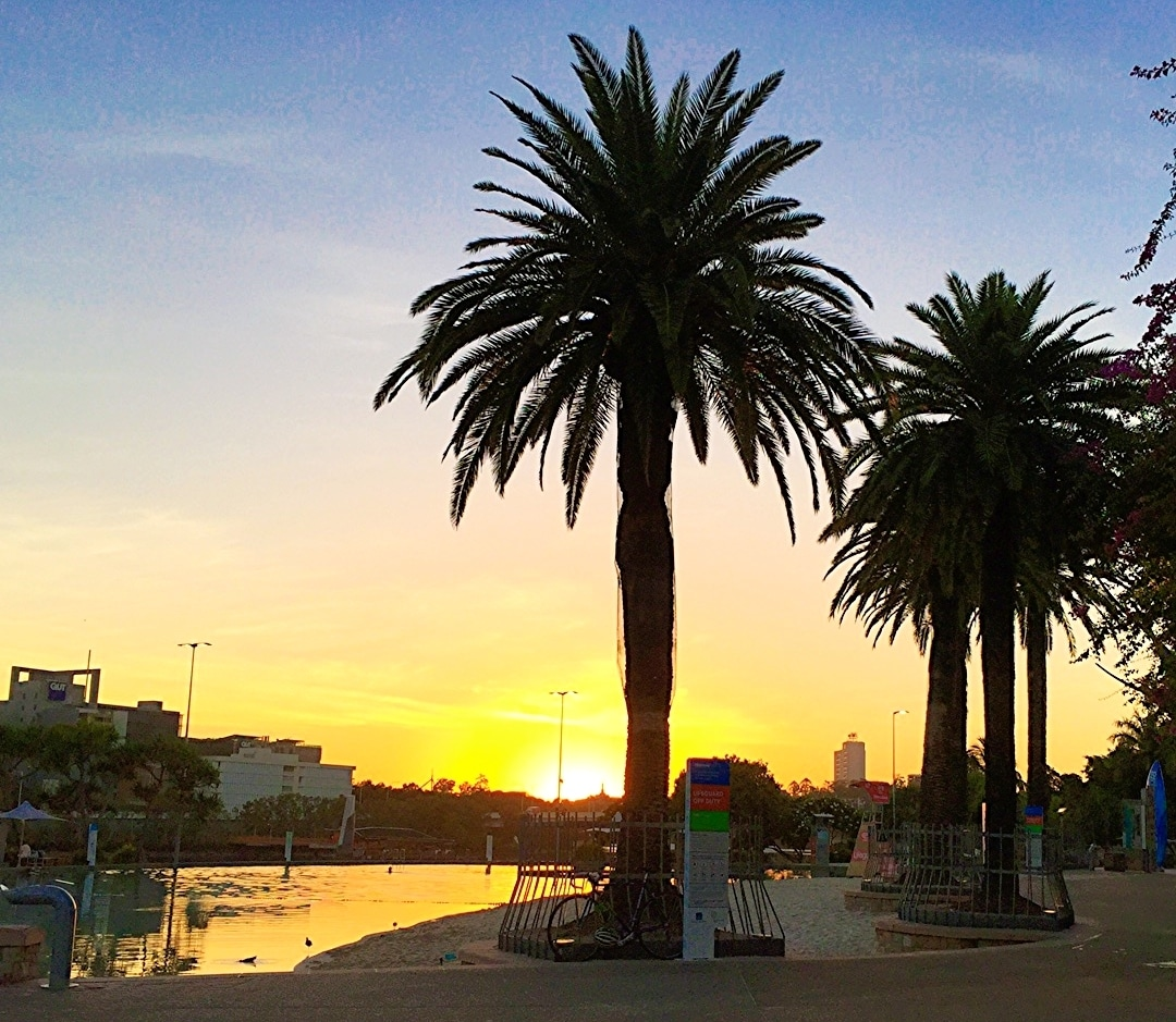 Sunrise from South Bank