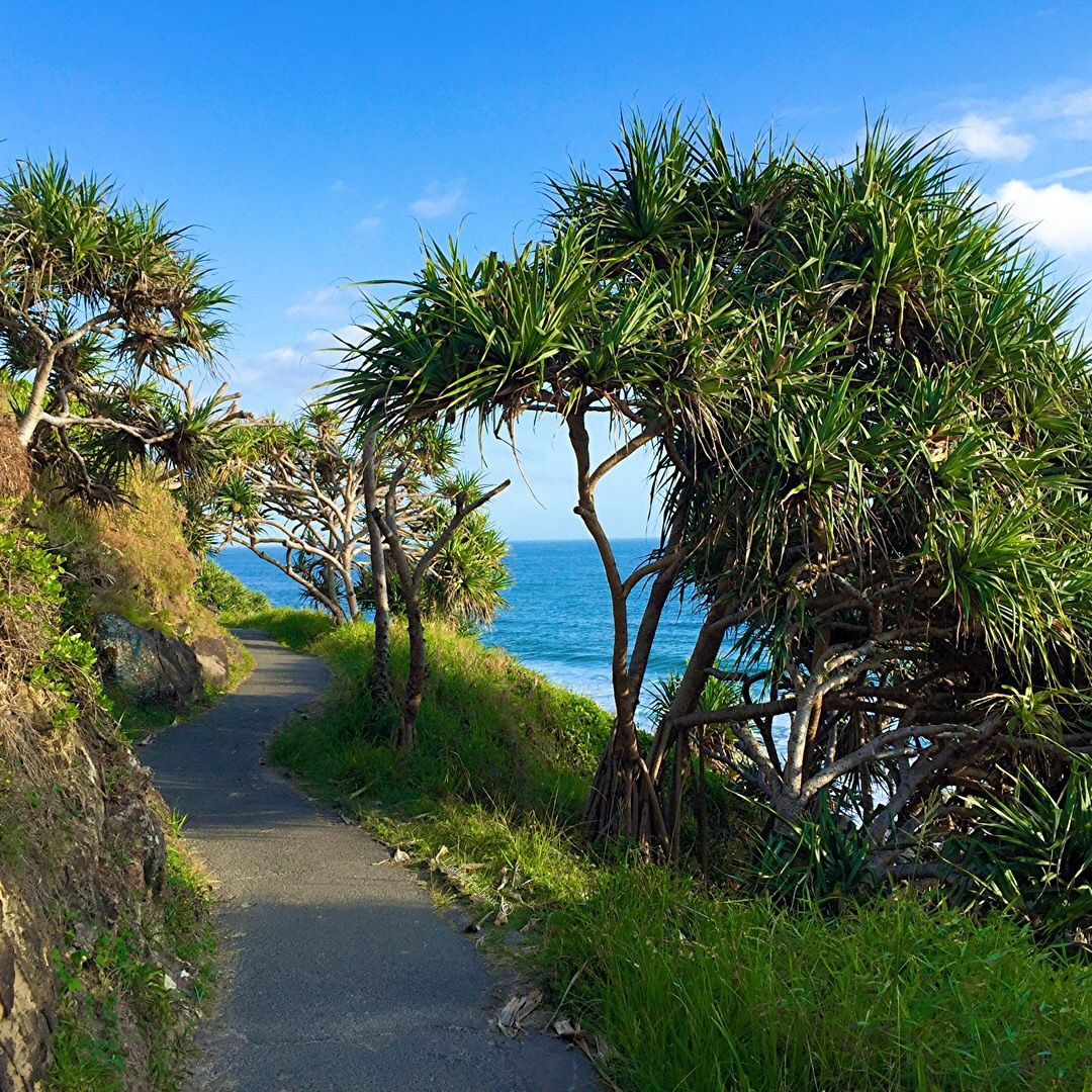 Burleigh Heads National Park.