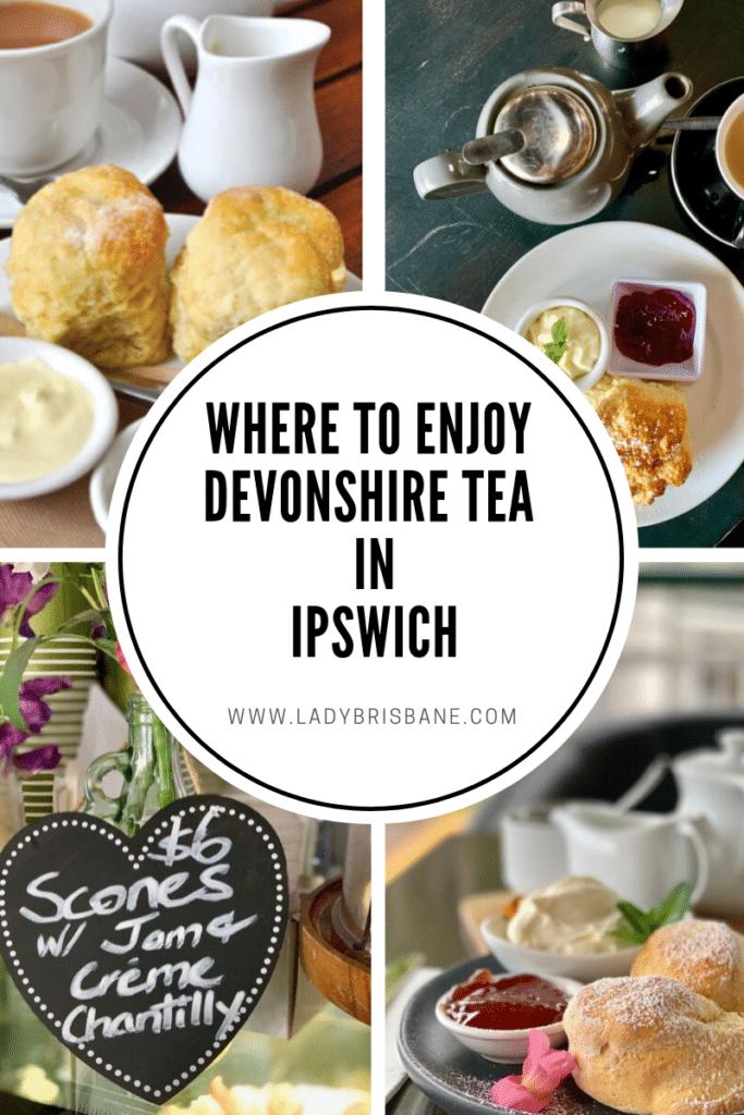 Devonshire tea in Ipswich