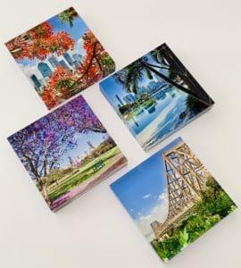 Crystal photo blocks