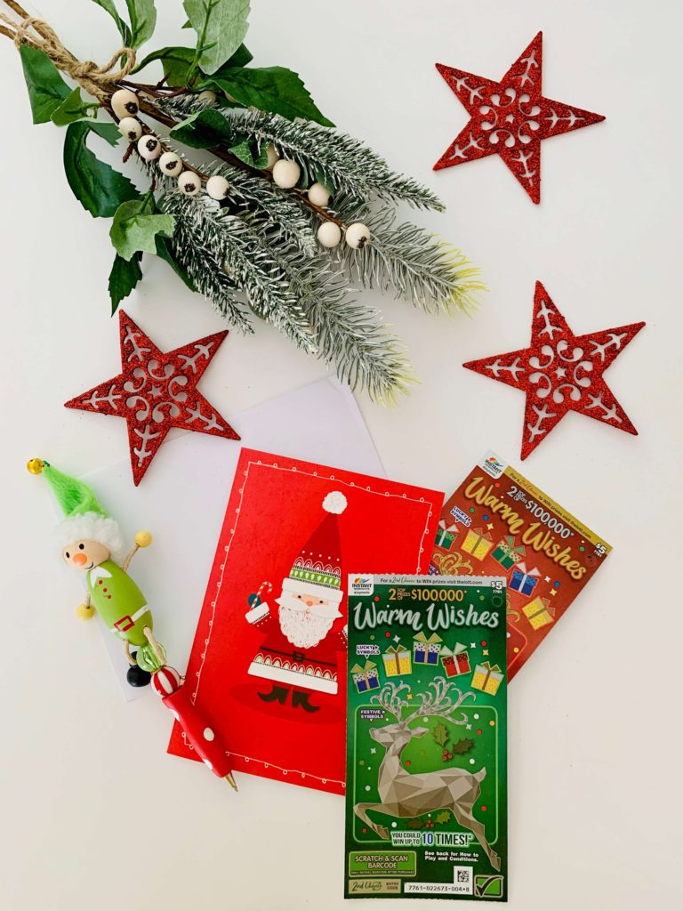 Instant Scratch It with Christmas Card