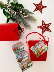 Instant Scratch It with red gift box