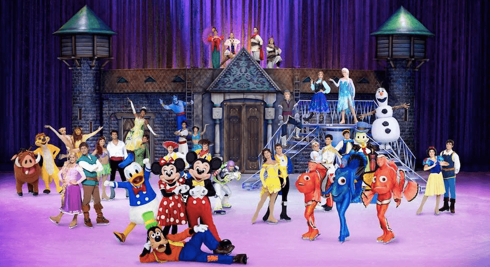 Disney on Ice Dare to Dream Brisbane