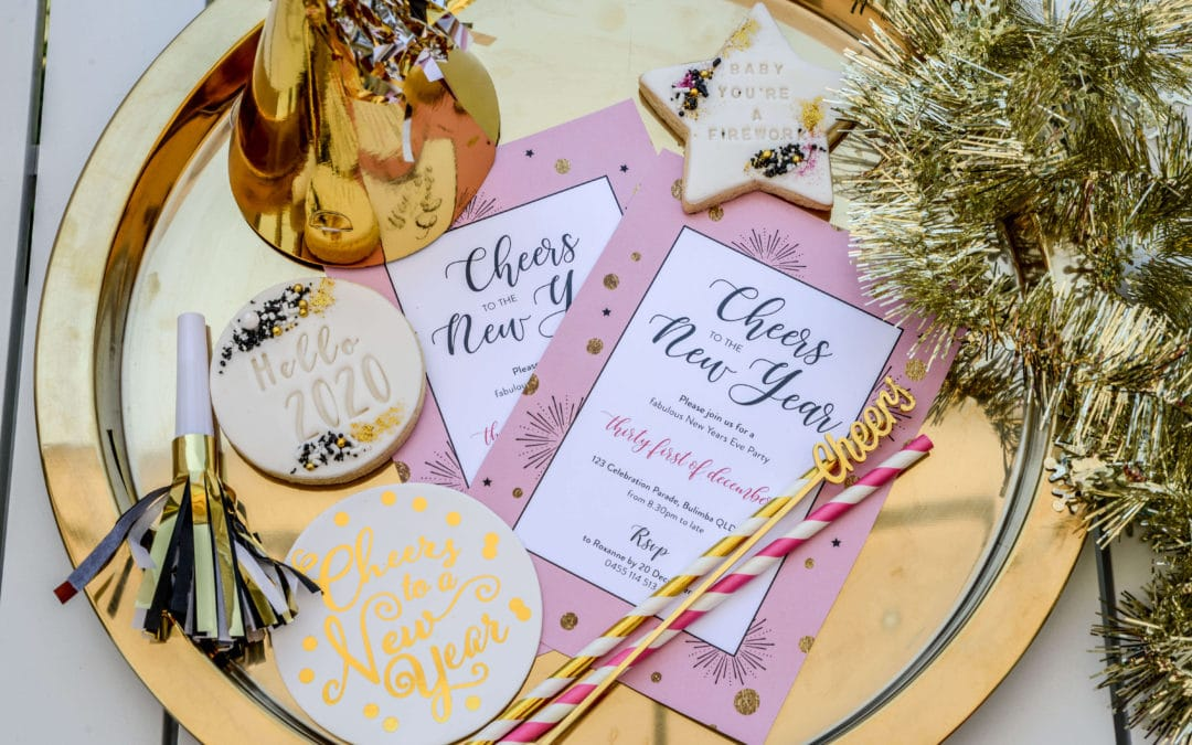 5 Easy Ideas for a glam NYE party at home