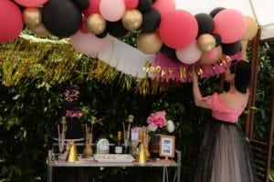 NYE Balloon decorations-2