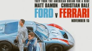 Ford v Ferrari film poster