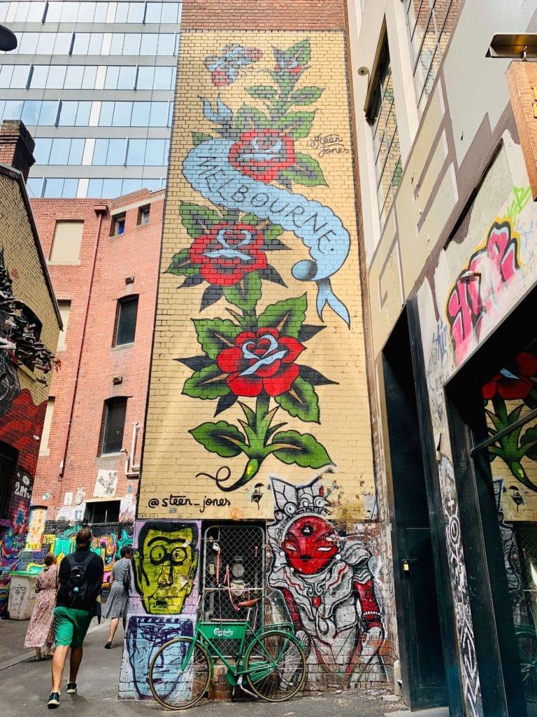 Great Southern Lady Brisbane Melbourne street art
