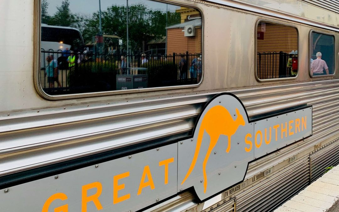 Great Southern Lady Brisbane train exterior