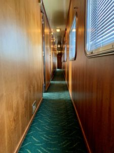 Great Southern Lady Brisbane train interior