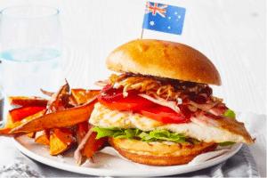 Aussie Chicken Burger taste.com