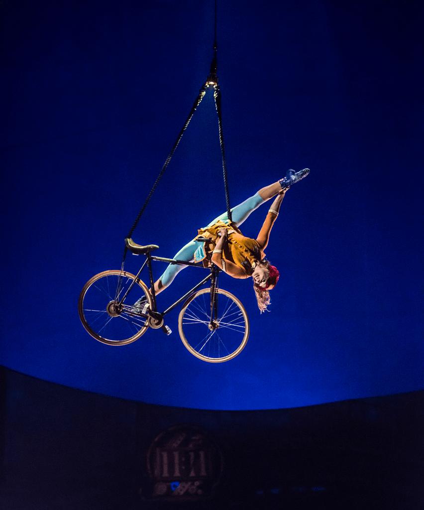 Kurios by Cirque du Soleil_Aerial Bicycle