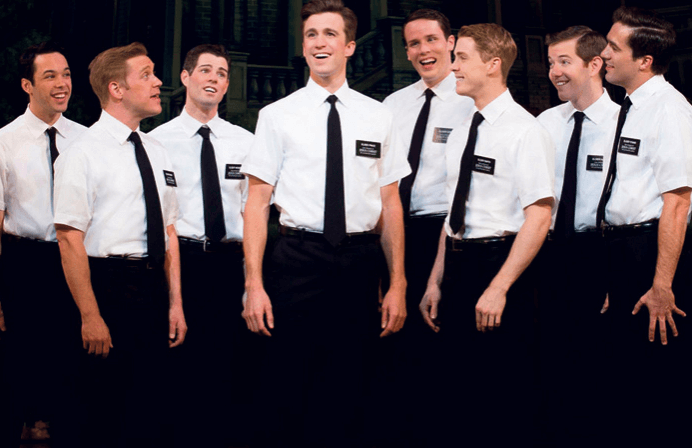 Book of Mormon cast