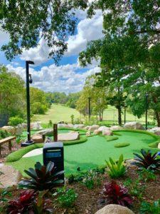 Garden golf putt putt St Lucia