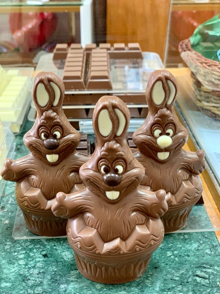 Mayfield Chocolate rabbits