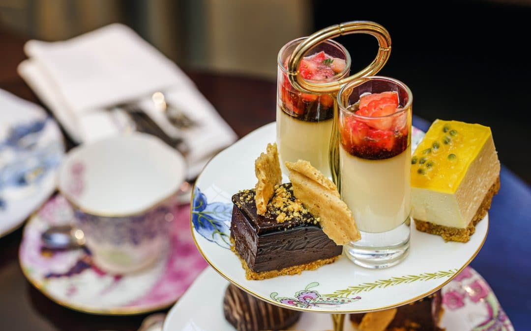 Enjoy Brisbane's best high tea at home