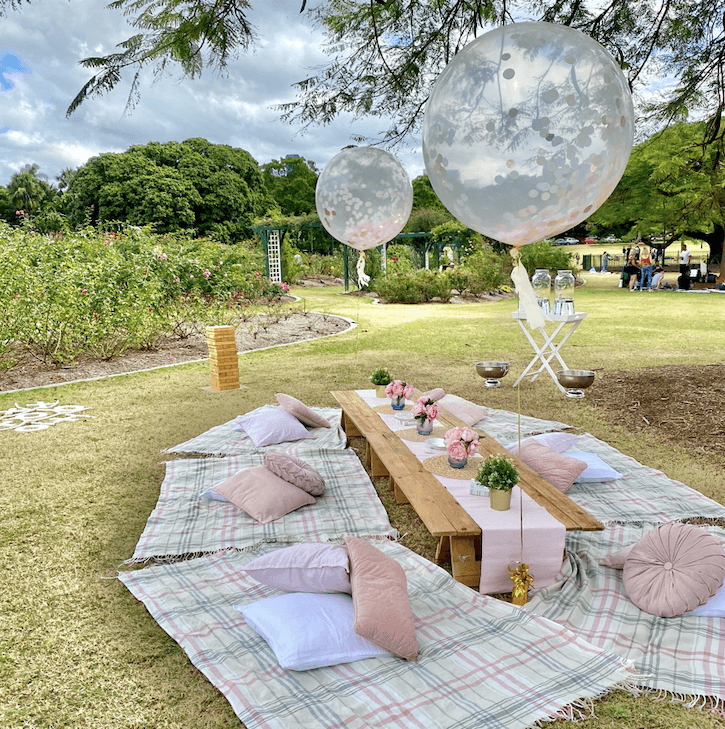 Pretty in pink picnic package