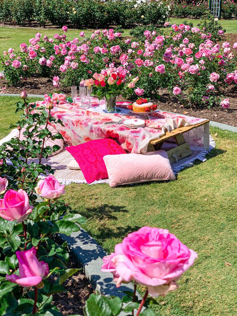 Rose Garden Picnic
