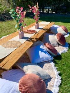 Boho picnic
