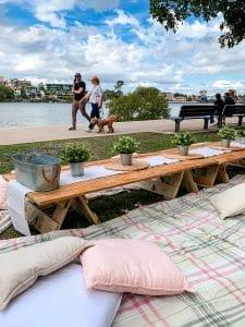 Rustic picnic