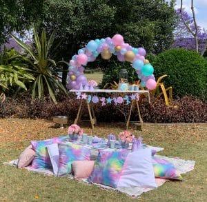 Mermaid picnic party