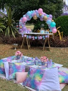 Mermaid picnic