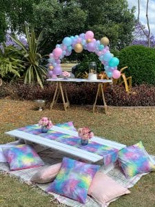 Mermaid picnic party