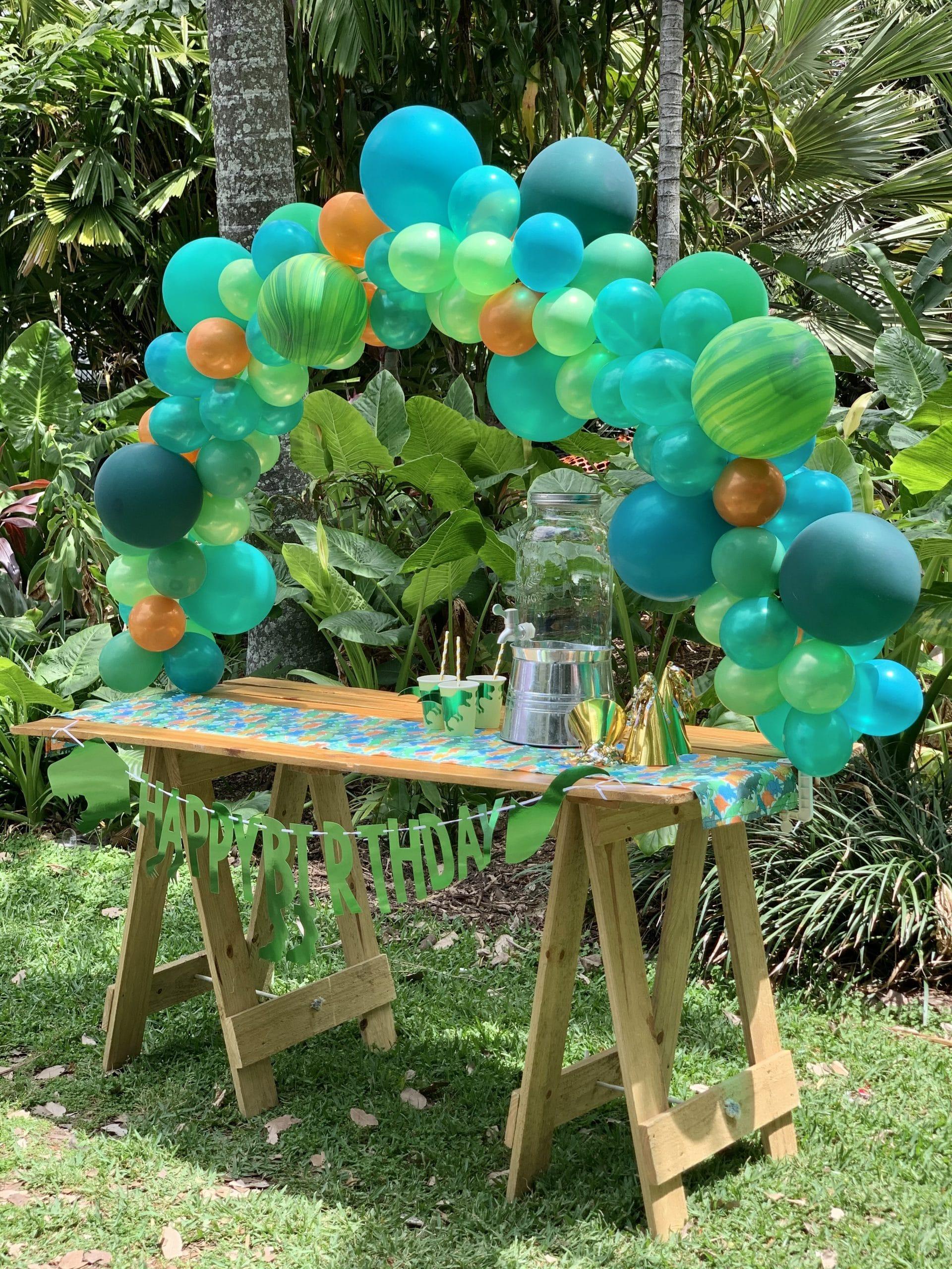 Dinosaur picnic party