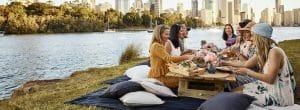 Lady Brisbane : Brisbane picnic party