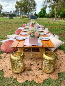 Boho picnic Brisbane