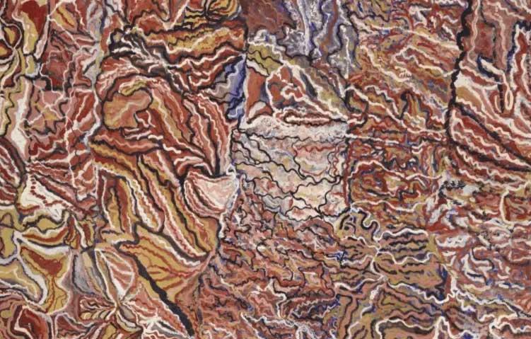 Mavis Ngallametta Queensland Art Gallery